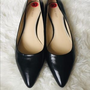 Black Nine West Kitten Heels